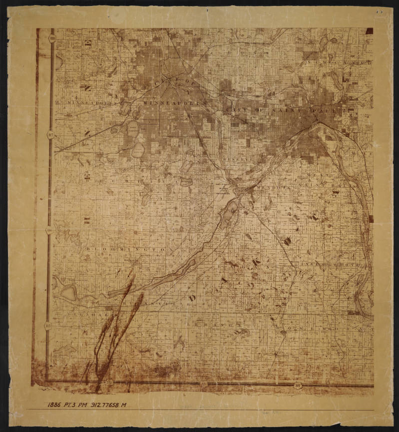 richfields map collection mn digital library
